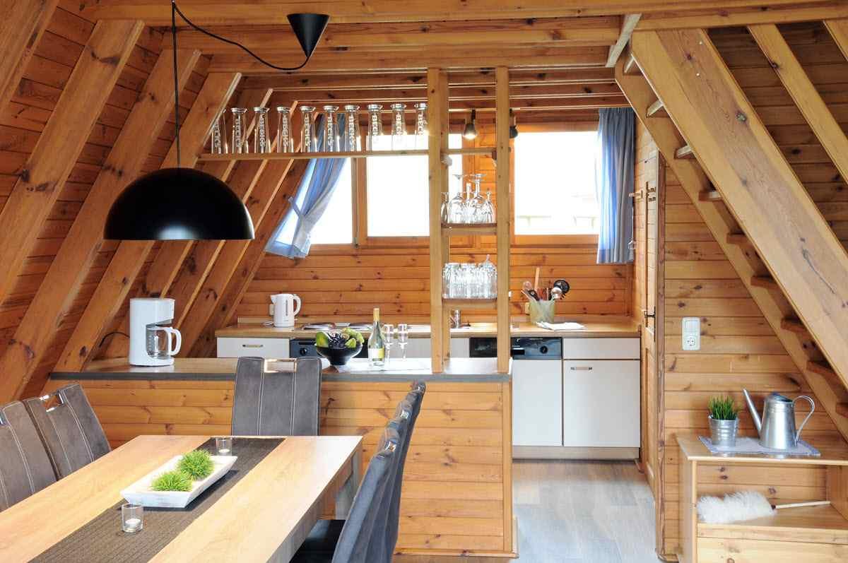 Nur dach ferienhäuser, finnhütten in der natur   saison restplätze ...